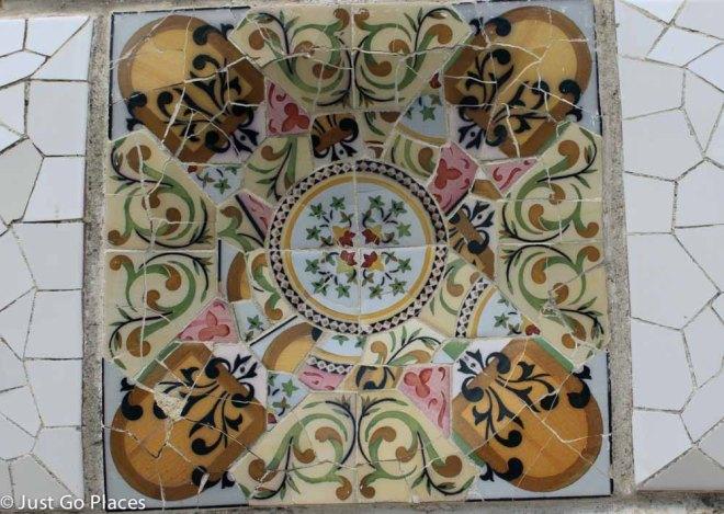park guell mosaics