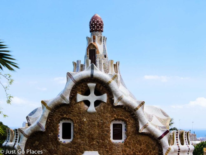 park guell building