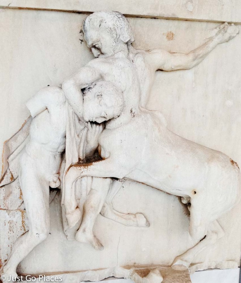 centaur at the acropolis