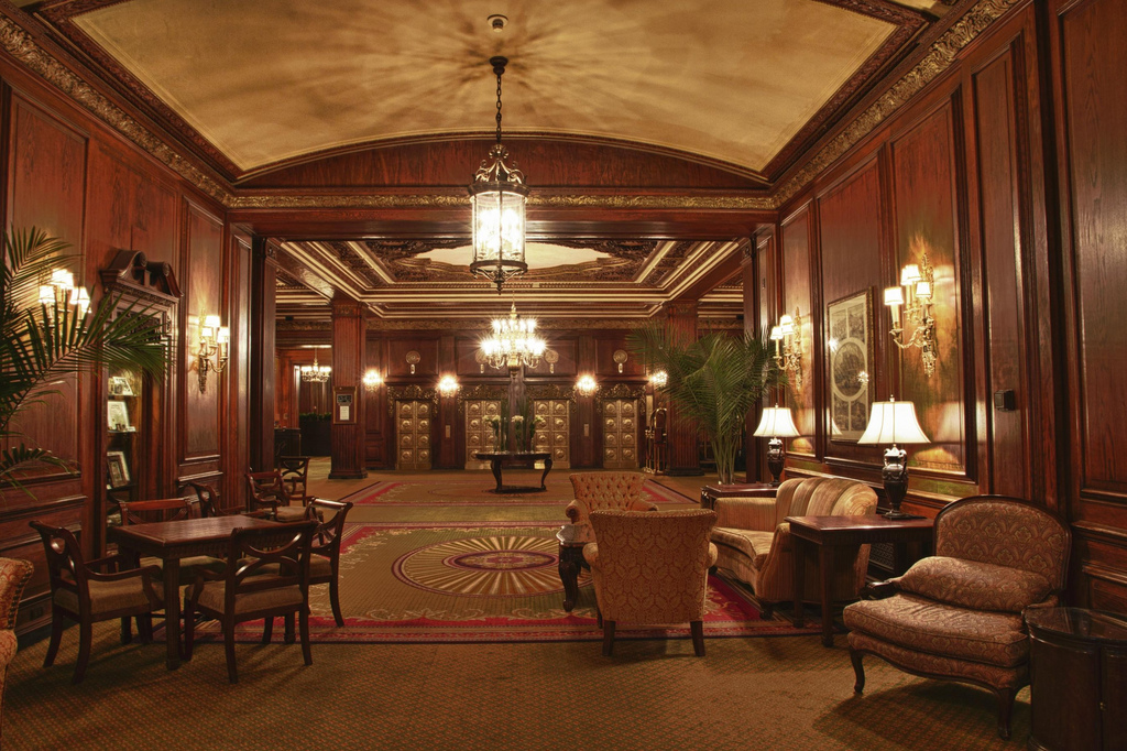 Omni Parker House Hotel Lobby