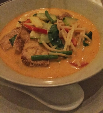 Tofu Thai red curry Chan berlin