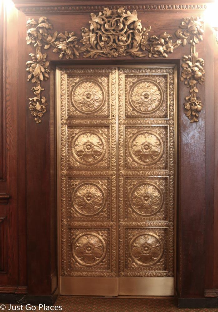 Parker House Hotel elevator