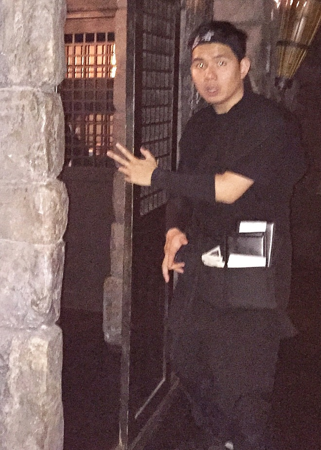 Ninja New York waiter