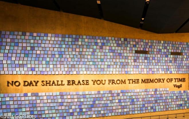 Virgil quote 9/11 museum