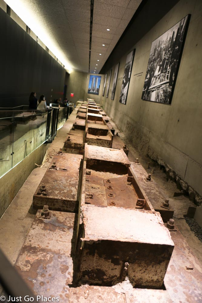 9/11 museum twin towers foundations