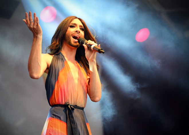 Conchita Wurst Eurovision 2014 singer