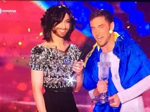 Conchita Wurst and Eurovision 2015 winnter