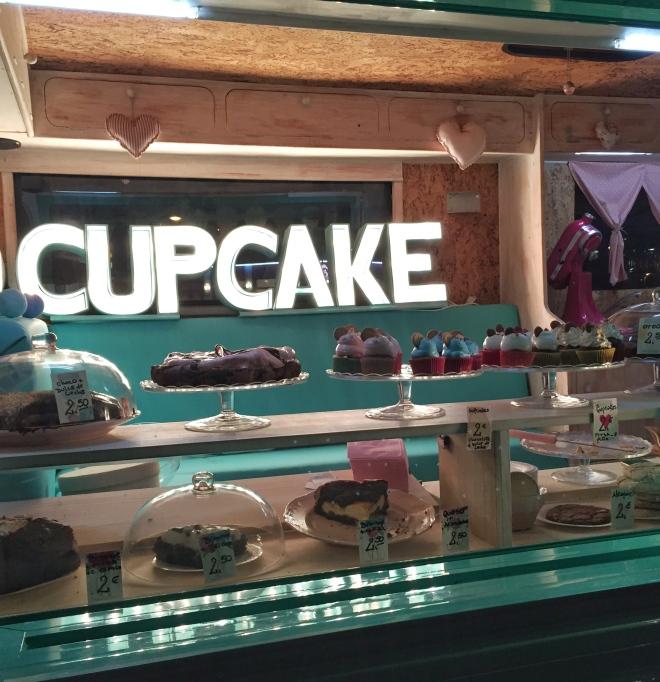 Happy Truck Food Tour Cupcake Truck