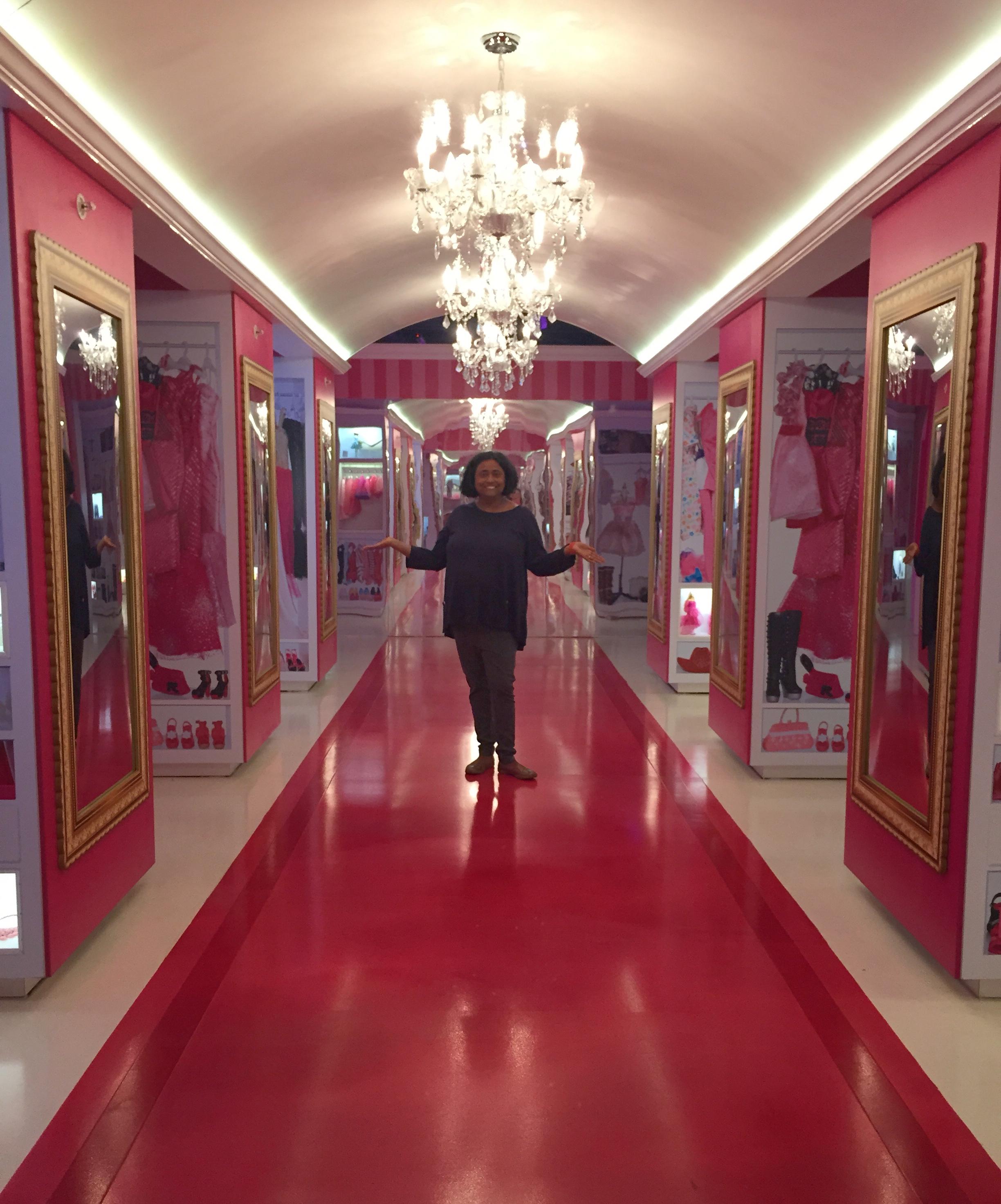 Barbie Dreamhouse closet