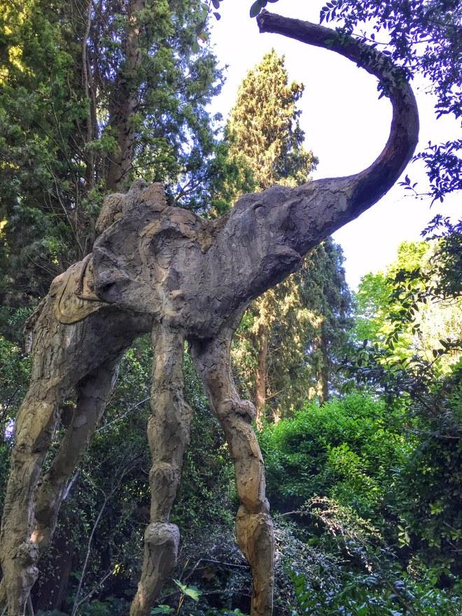 Gala Dali Garden elephants