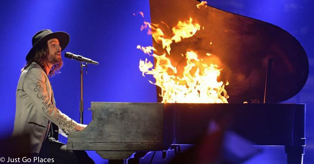 Austrian piano fire