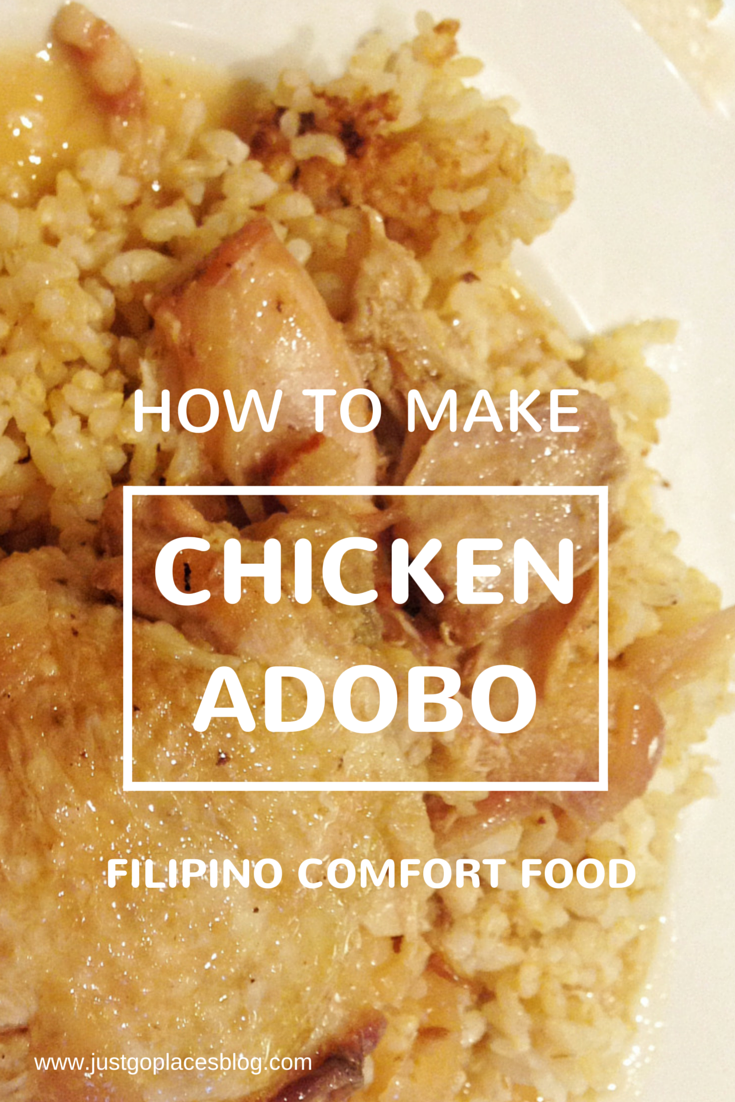A recipe for Chicken Adobo the Filipino comfort food as created by the makers of Hot Chiu