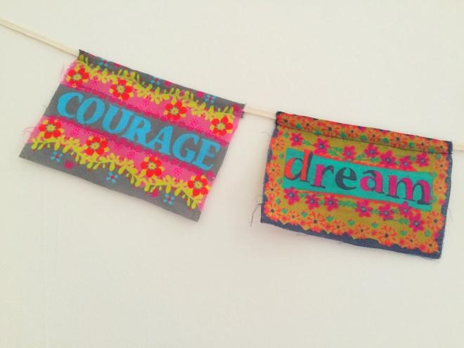 courage dream banner