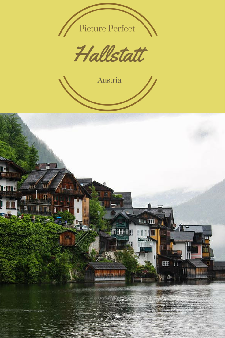 Hallstatt is a picture perfect little town in Austria