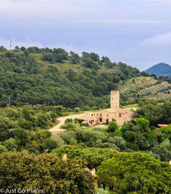 fortified farmhouse catalonia