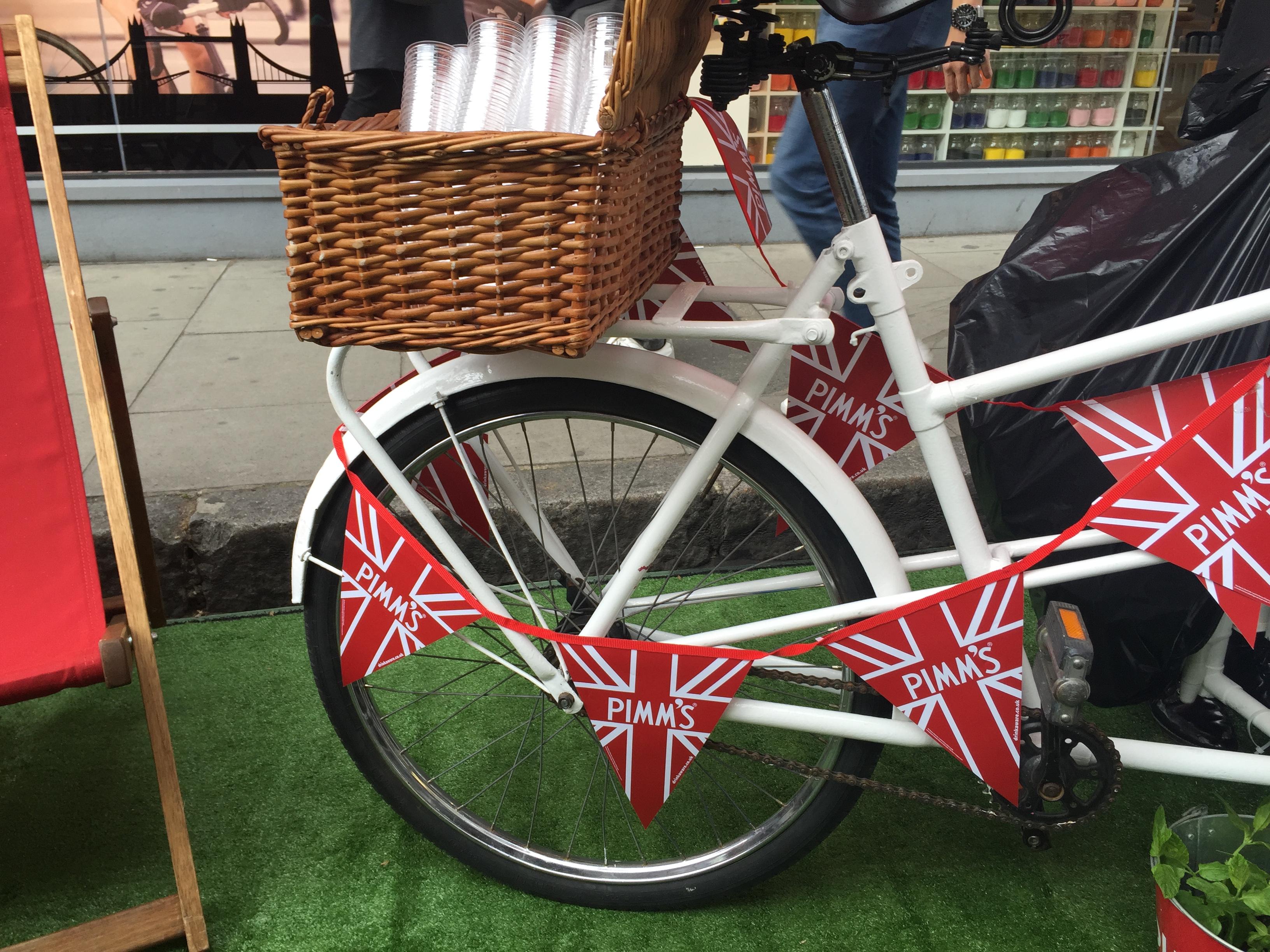 Pimms bike