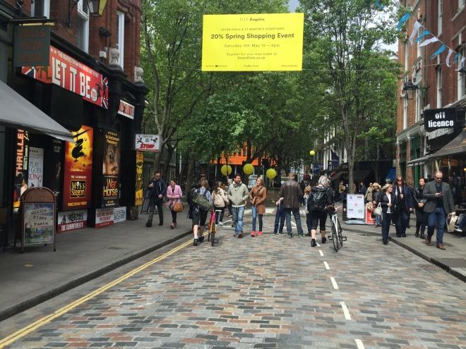 Covent Garden street fair