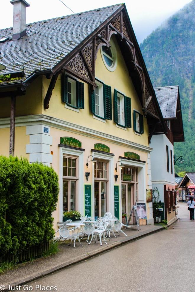 house in Hallstatt Austria