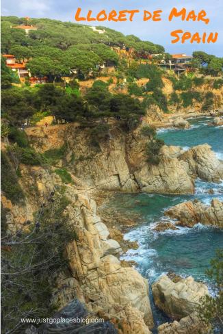 Lloret de Mar on the Costa Brava Spain