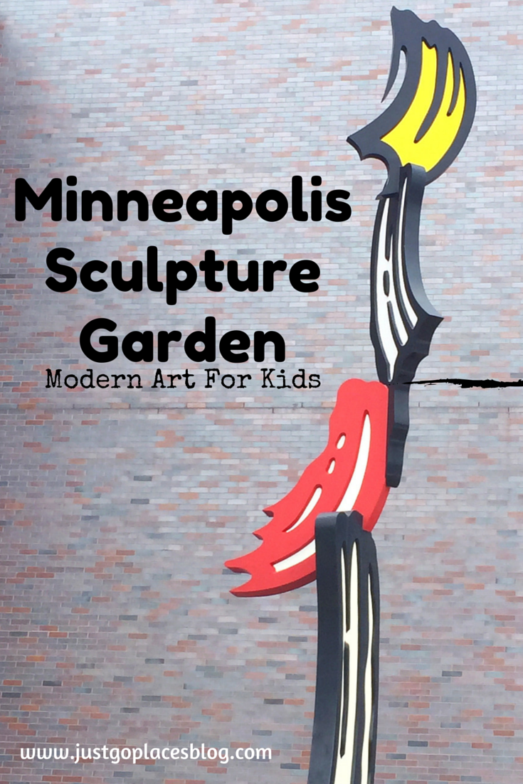 Minneapolis Sculpture Garden kid-friendly Modern Art