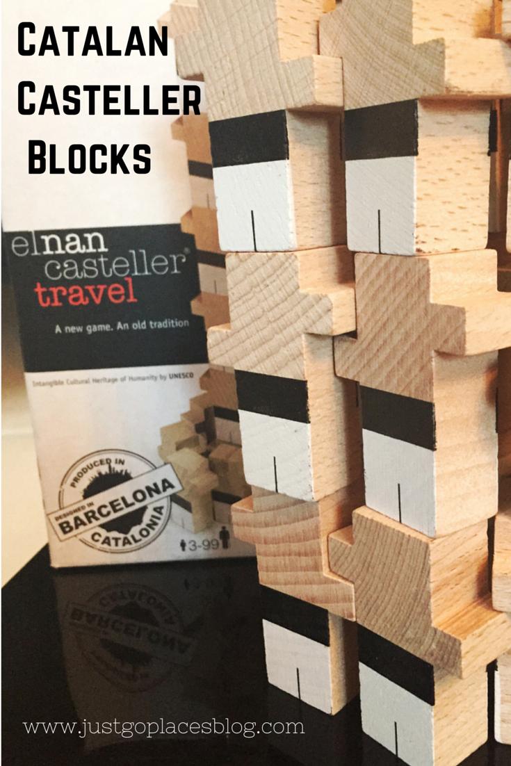 Catalan Casteller Blocks souvenir