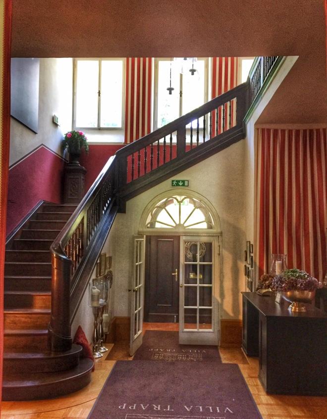 Villa Trapp staircase