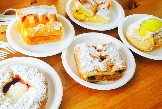The Solvang Bakery danishes