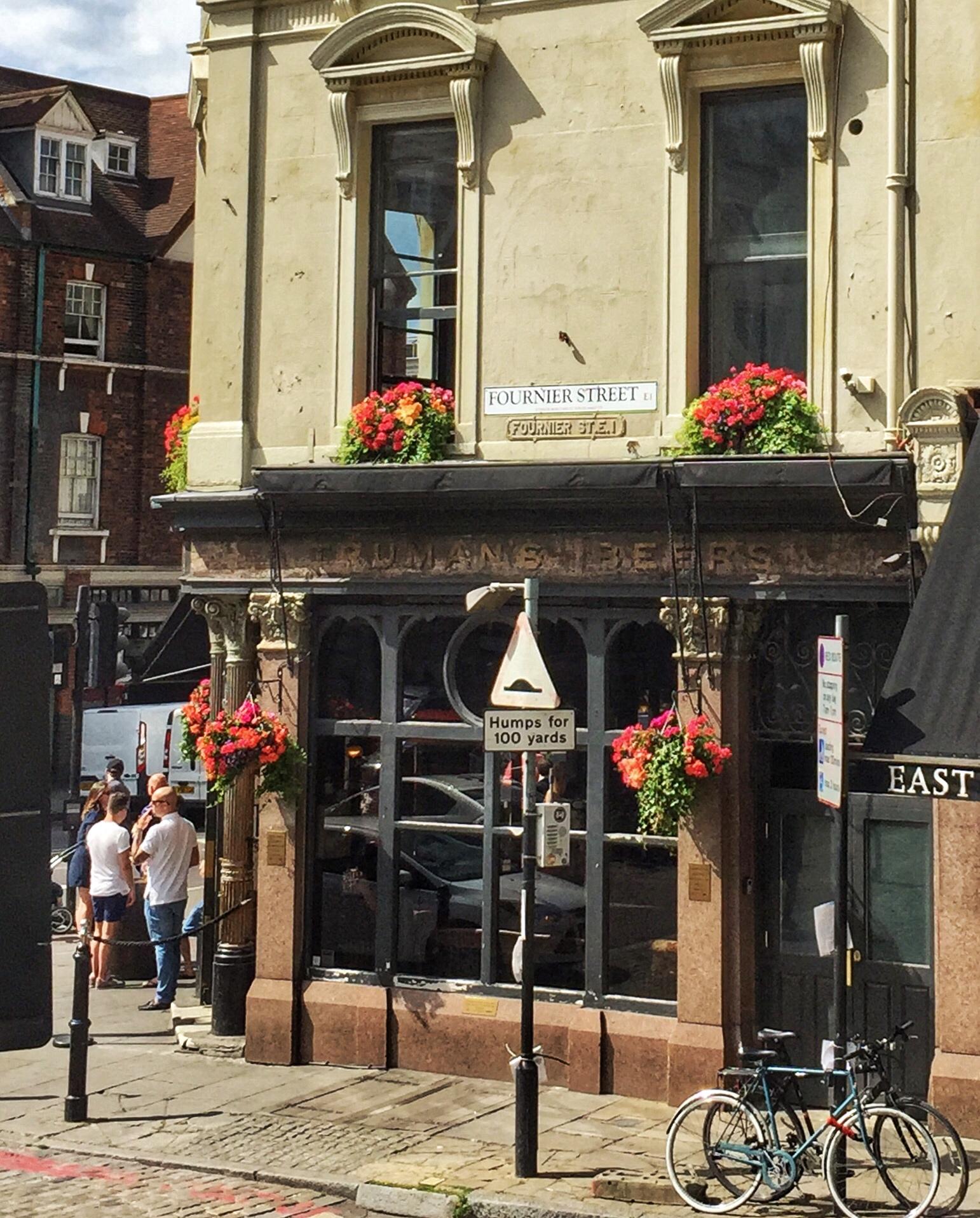 The Ten Bells Pub on Fournier Street