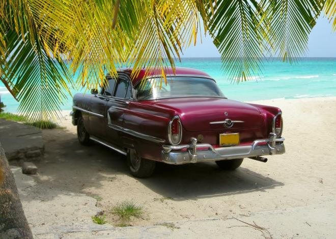 Cuba beach scene in VAradero