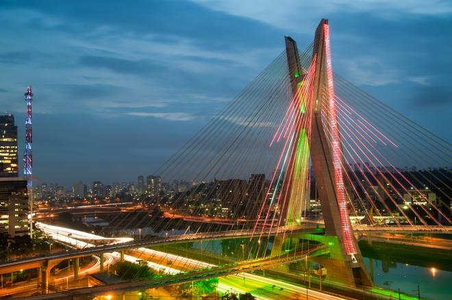 Sao Paulo bridge