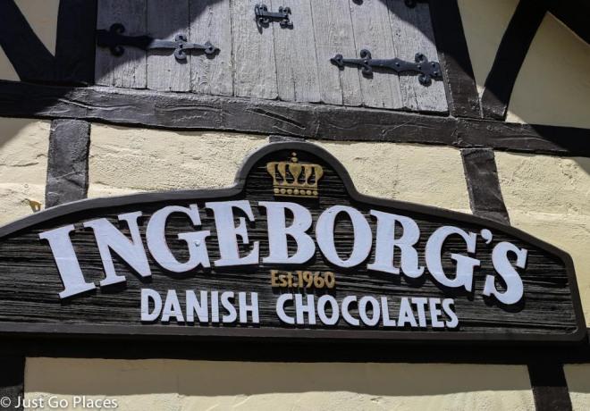 Danish chocolates in Solvang
