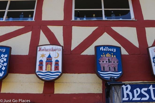 Danish emblems solvang