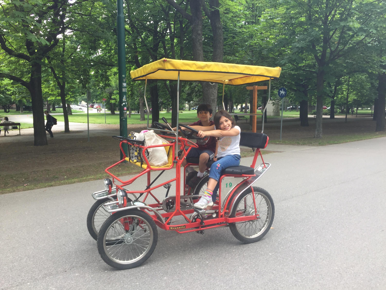 Prater Park rickshaw