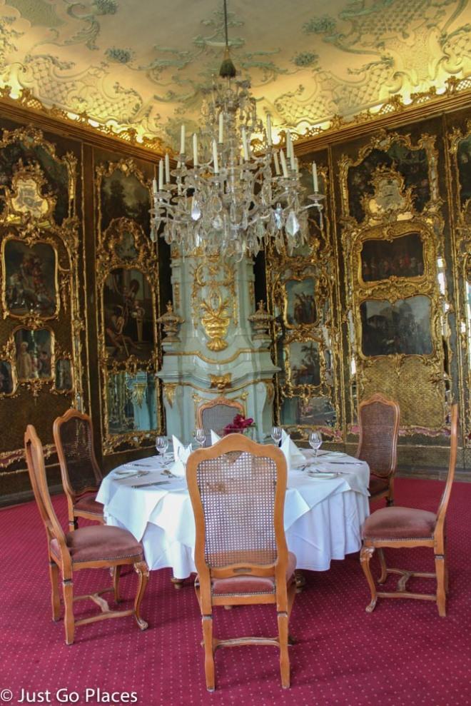 Schloss Leopoldskron parlour