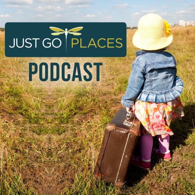 Just Go Places Podcast Cover
