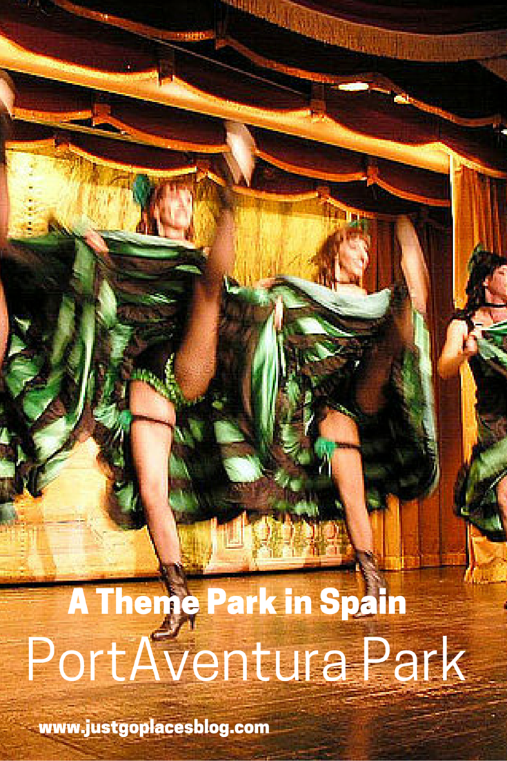 PortAventura Theme Park in Costa Dorada in Spain