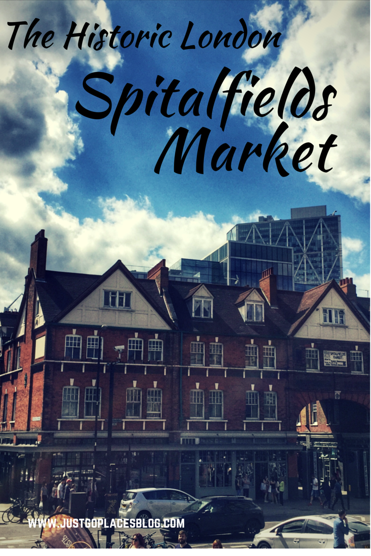 The historic Spitalfields Market in London