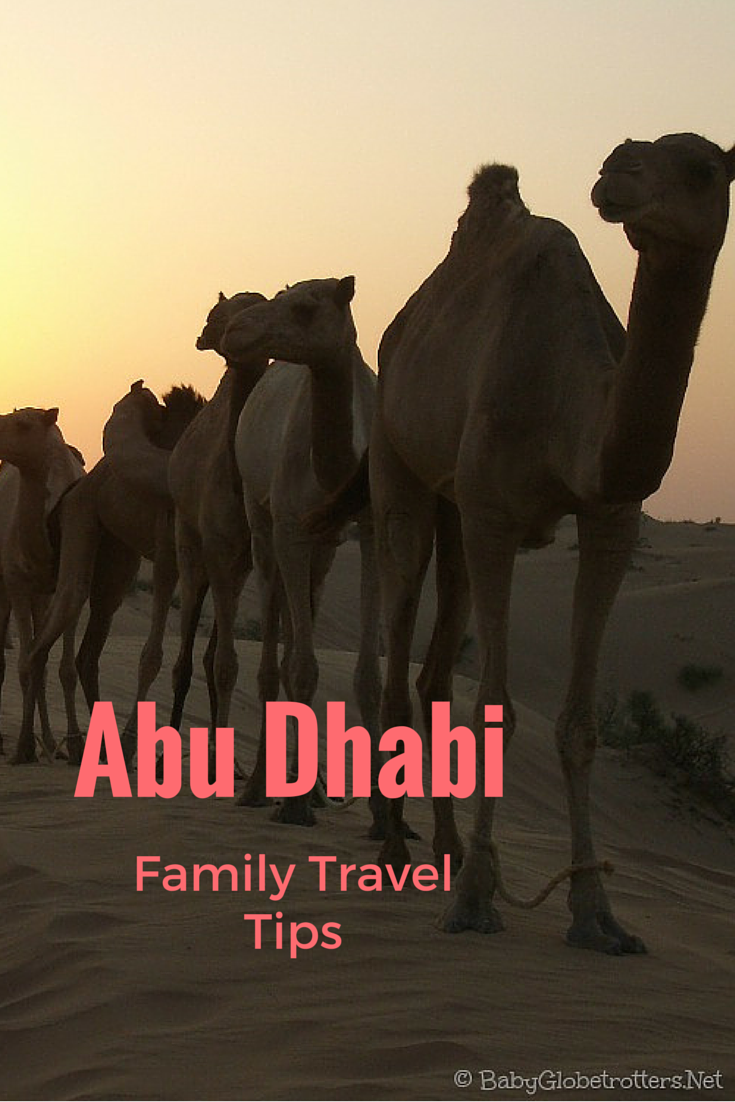 Abu Dhabi Family Travel Tips a podcast with Keri of www.babyglobetrotters.net