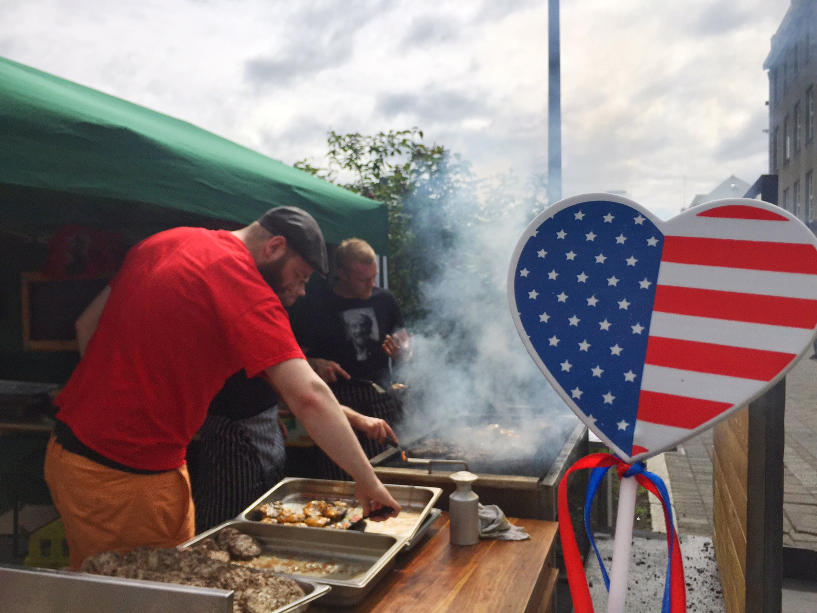 barbecue at the American Bar