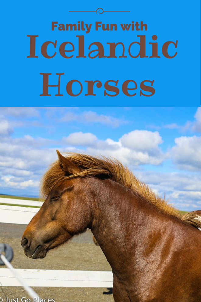 Family Fun with Icelandic Horses podcast on  Just Go Places Blog