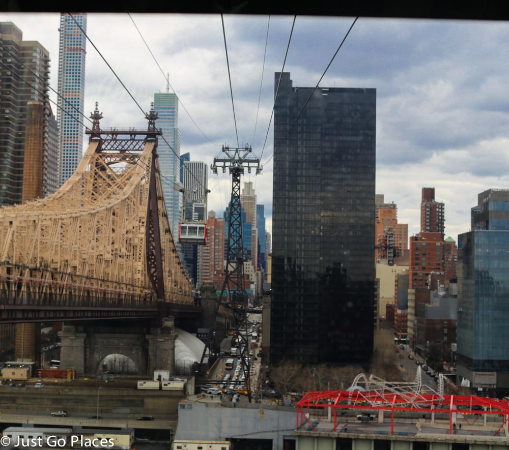 Roosevelt Island tram view
