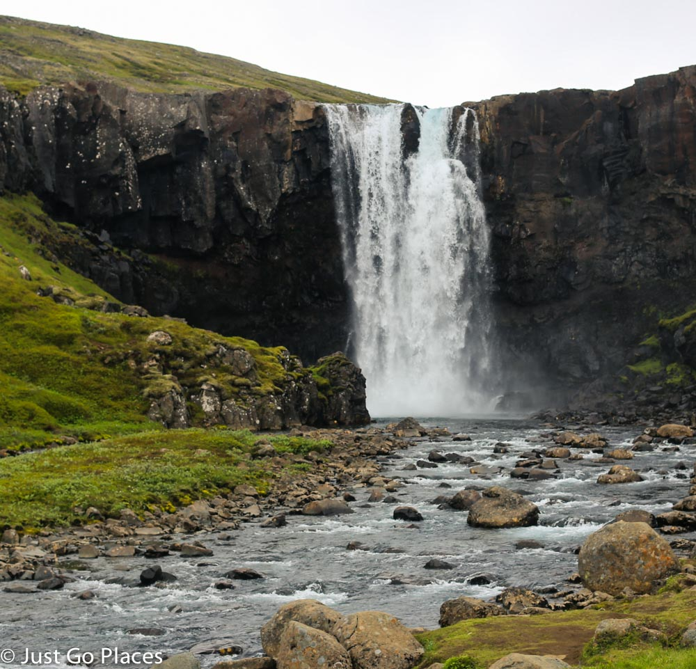 Seydisfjordur waterfalls