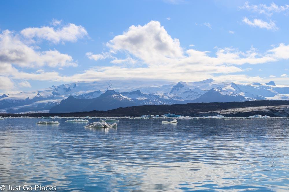 Jokulsarlon icebergs