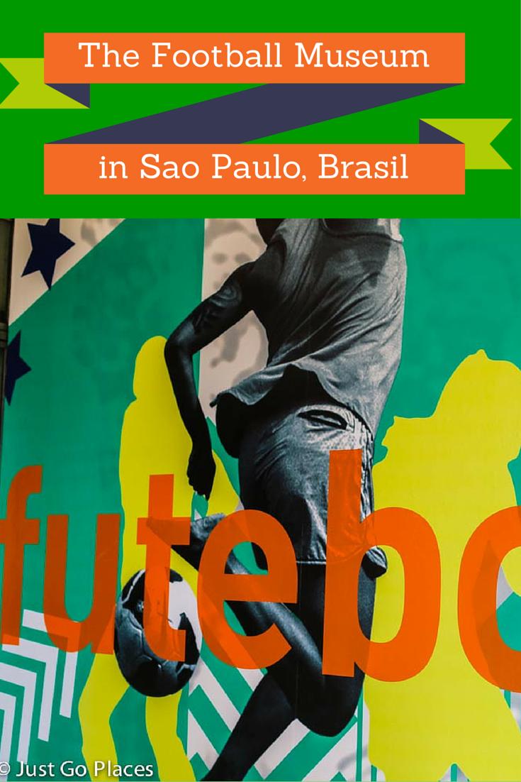 football museum at Pacaembu in Brasil