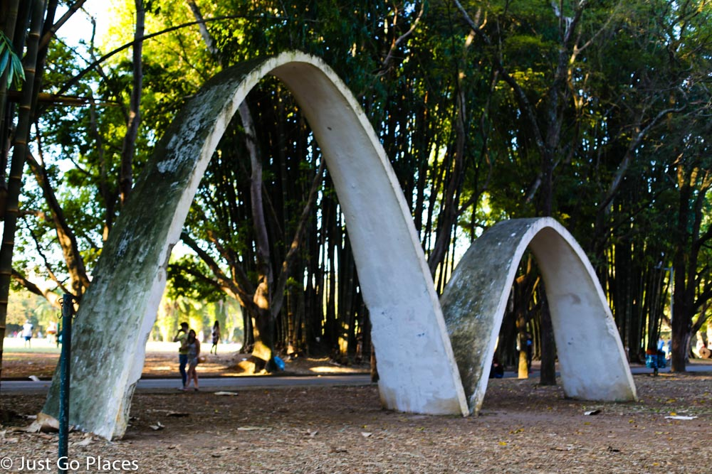 sculpture at Ibirapuera Park Brasil