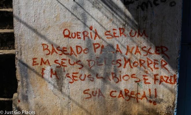 Paraisapolis Favela in Sao Paolo Brasil