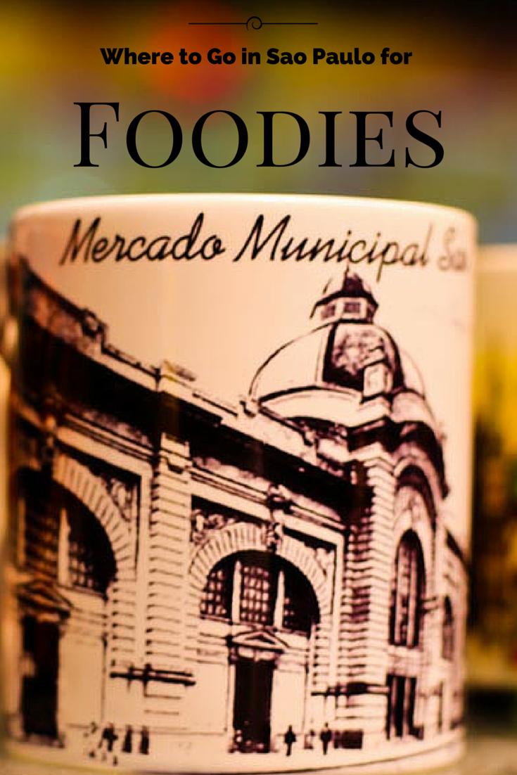 Mercado Municipal de Sao Paulo in Brasil for foodies